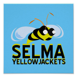 SELMA YELLOWJACKETS  POSTER