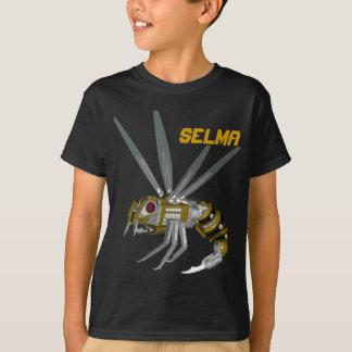 Selma YellowJackets Robot Basketball T-Shirt