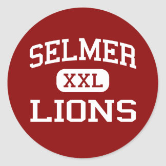 Selmer - Lions - Middle School - Selmer Tennessee Classic Round Sticker