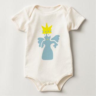 seltsame Kreatur: Prinzessin mit Flügeln Baby Bodysuit