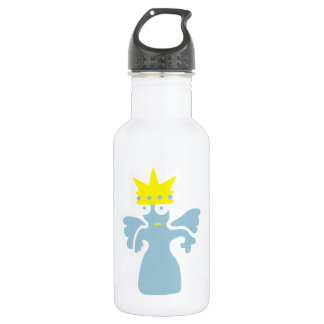 seltsame Kreatur: Prinzessin mit Flügeln Stainless Steel Water Bottle