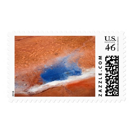 Seltun geothermal area postage stamps