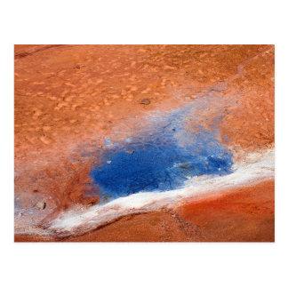Seltun geothermal area postcard