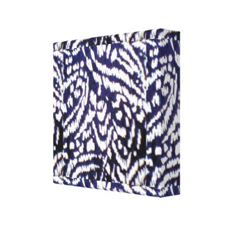 Selva abstracta impresiones de lienzo