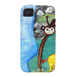 Selva animal iPhone 4 carcasa