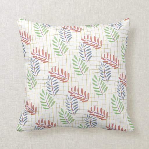 Selva colorida almohadas