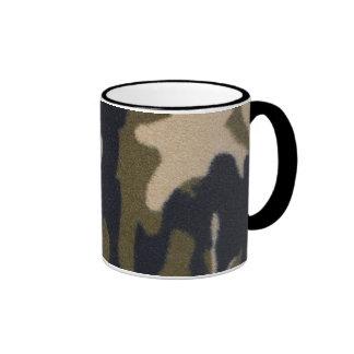 Selva de la impresión de Camo verde/negro para los Tazas De Café
