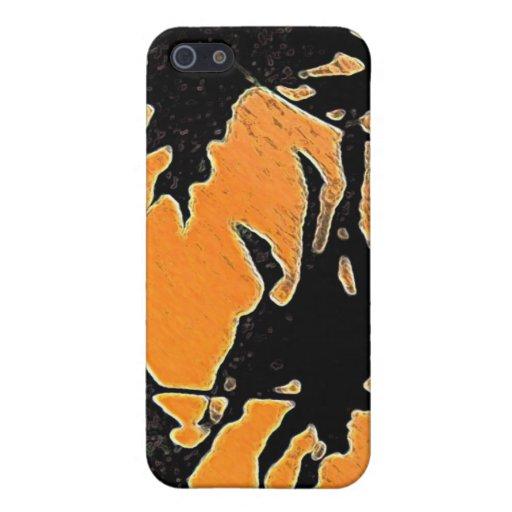 Selva de la puesta del sol iPhone 5 protectores