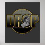 Selva Hardstyle DJ del dubstep de DnB Drumnbass de Poster