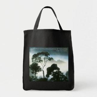 Selva tropical bolsa tela para la compra