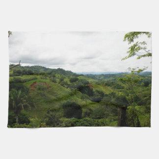 Selva tropical de Costa Rica Toalla De Mano