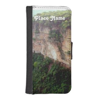 Selva tropical del Brasil Fundas Tipo Billetera Para iPhone 5