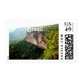 Selva tropical del Brasil Sello