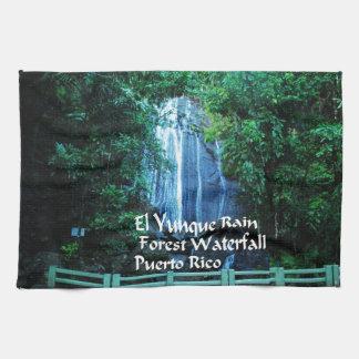 Selva tropical del EL Yunique Toallas