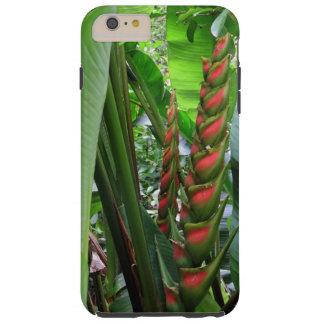 Selva tropical Heliconia Funda De iPhone 6 Plus Tough