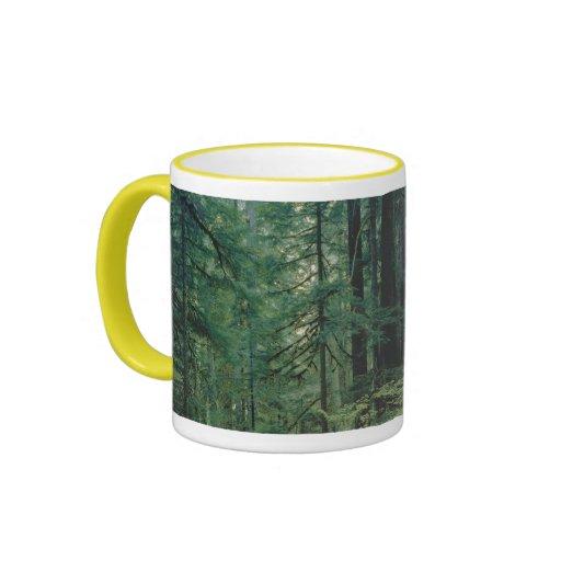 Selva tropical olímpica taza de dos colores