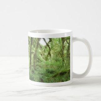 Selva tropical parque nacional olímpico tazas de café