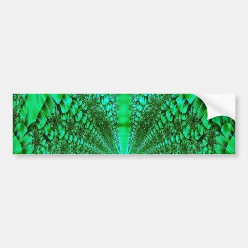 Selva tropical pegatina de parachoque