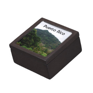 Selva tropical puertorriqueña cajas de regalo de calidad