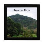 Selva tropical puertorriqueña cajas de joyas