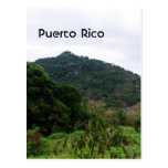 Selva tropical puertorriqueña postales