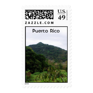 Selva tropical puertorriqueña sello