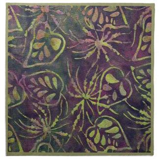 Selva tropical servilletas de papel