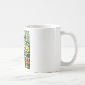 Selva tropical tropical tazas de café