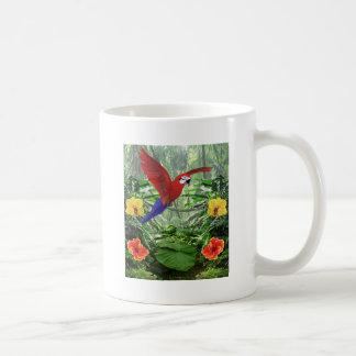 Selva tropical tropical taza