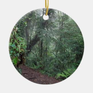 selva verde ornamento para arbol de navidad