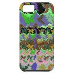 Selva verde salvaje iPhone 5 cárcasa