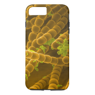 SEM image of Tradescantia Pollen and Stamens iPhone 7 Plus Case