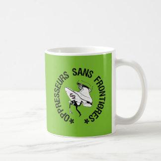 SEM OPPRESSORS BORDER COFFEE MUG