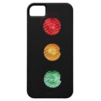 Semáforo moderno único de la luz de la parada iPhone 5 Case-Mate carcasa