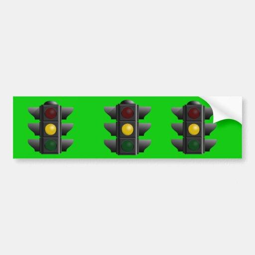 Semáforo Pegatina Para Auto
