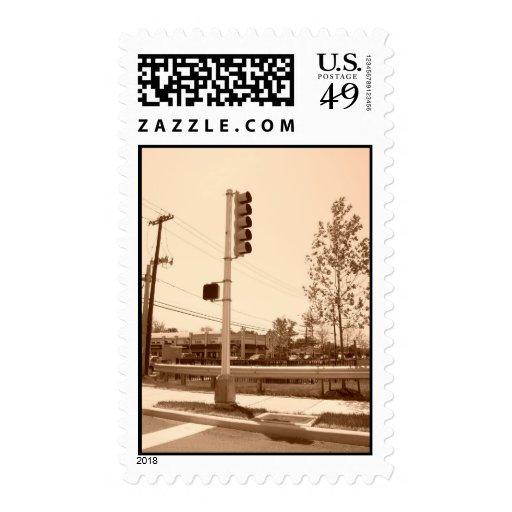 Semáforo Timbre Postal