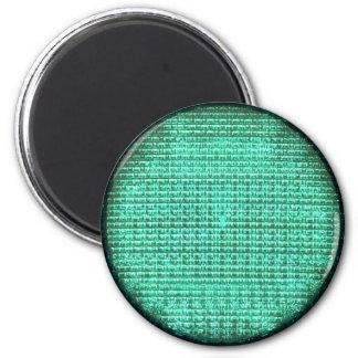 Semáforo verde imán de frigorífico