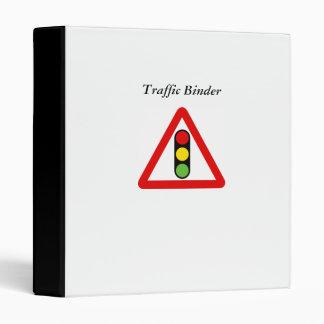 Semáforos, carpeta del tráfico
