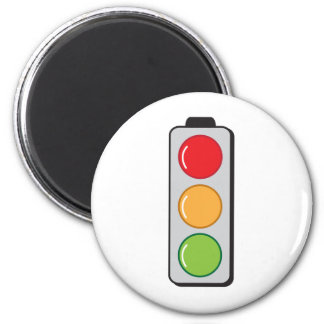 semáforos imán redondo 5 cm