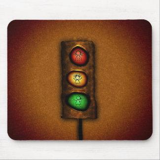 Semáforos Mousepad