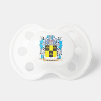 Semakin Coat of Arms - Family Crest BooginHead Pacifier
