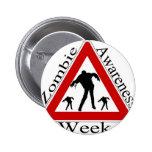 semana de la conciencia del zombi pins