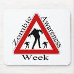 semana de la conciencia del zombi tapete de ratón