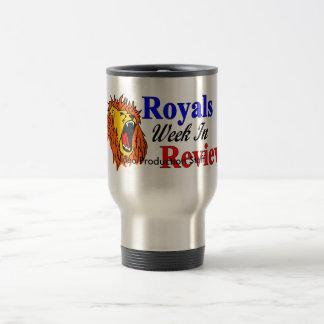 Semana de los Royals en taza del viaje del estudio