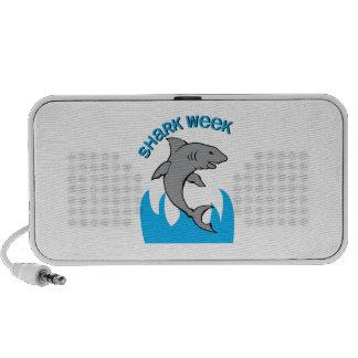 Semana del tiburón iPod altavoz