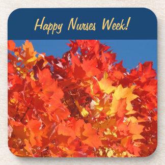 ¡Semana feliz de las enfermeras! alumerzos de las Posavasos De Bebida