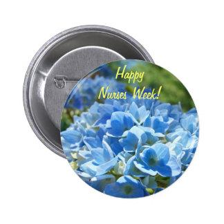 ¡Semana feliz de las enfermeras! flores del Hydran Pins