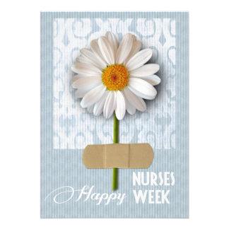 Semana feliz de las enfermeras Tarjetas de felici Comunicados Personalizados
