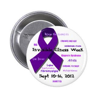 Semana invisible 2012 de la enfermedad pins
