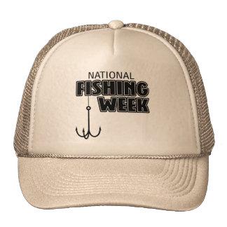 Semana nacional de la pesca gorras
